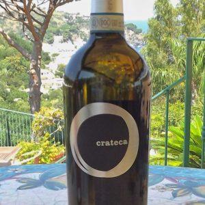 bottiglia crateca biancolella, vini ischia